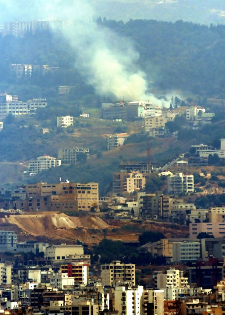 Travel with Fear... but Only a Little - Airstrike in Beirut Lebanon