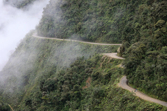 Travel with Fear... but Only a Little - Death Road in Bolivia