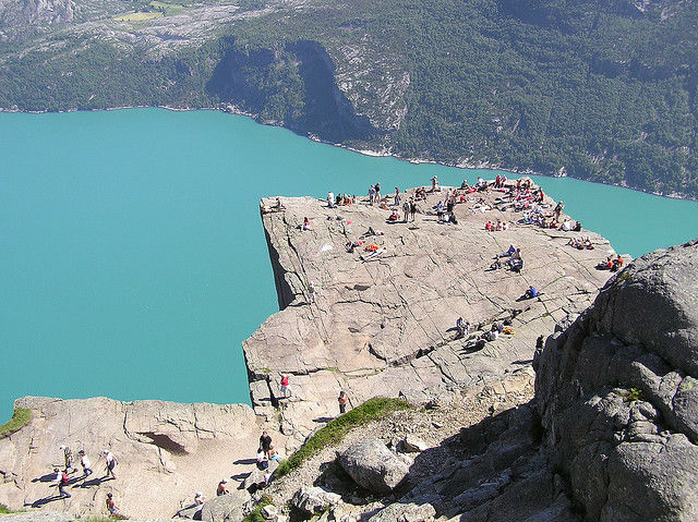 Travel with Fear... but Only a Little - Preikestolen Norway