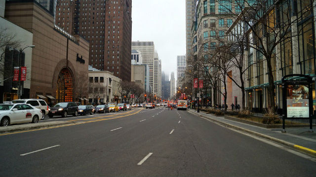 Weekend in Chicago - Michigan Ave