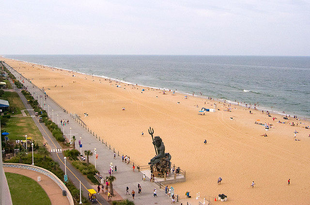 Best Beach Weekend Getaways - Virginia Beach Virgina