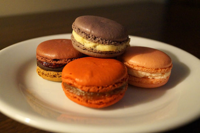 My Weekend in New York City - Lovely macaroons from Macaron Cafe