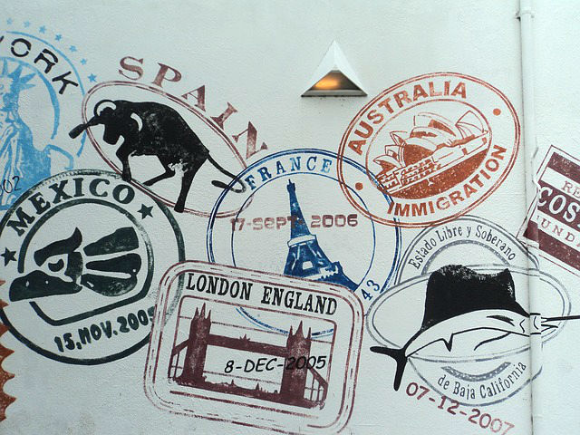Steps for a Travel Lifestyle - Passport Stamps