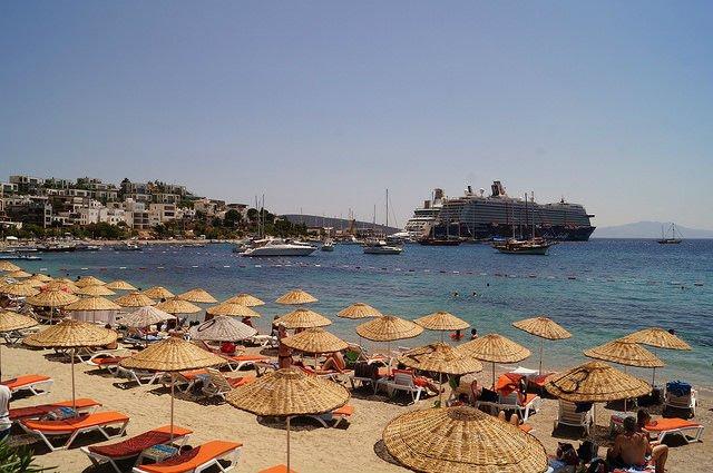 A Day in Bodrum Turkey - Beach in Bodrum