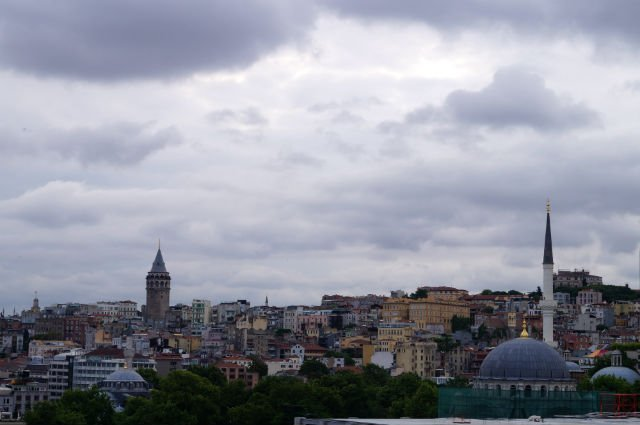 My Tips for Istanbul Turkey - Galata Tower in the distance