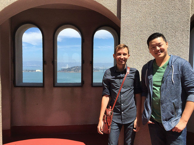 My First Time in San Francisco - Coit Tower