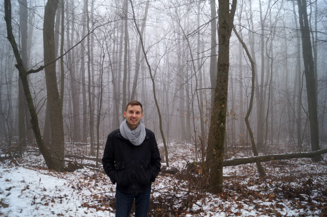 How Travel Changed Me - In the woods in Wisconsin at Devils Lake