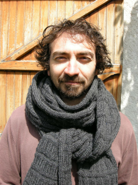 Manly Scarves for Travel - Handmade wool scarf from France