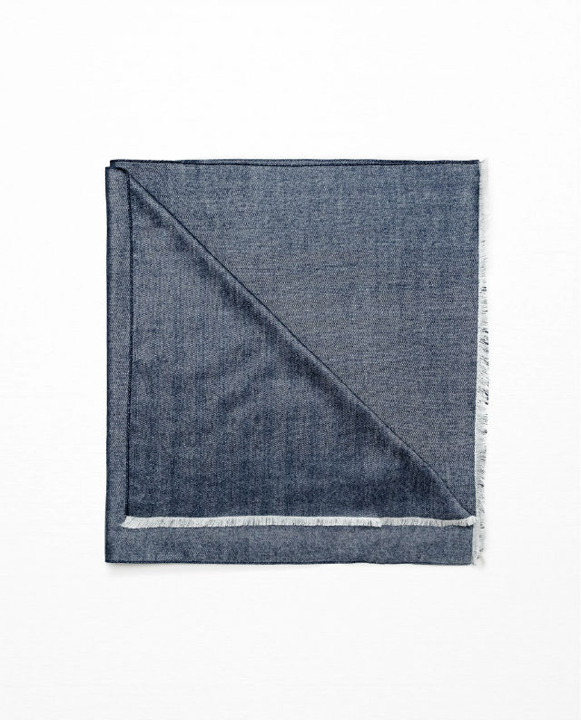 Manly Scarves for Travel - Herringbone Scarf Zara