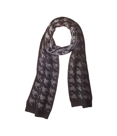 Manly Scarves for Travel - Twenton Houndstooth Scarf Ted Baker