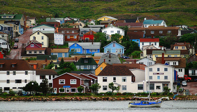 The Oddity of Saint-Pierre and Miquelon - The city of Saint-Pierre