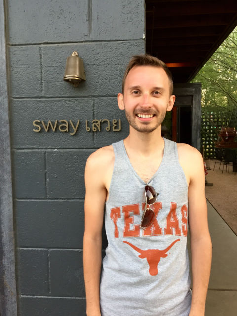 ShawnVoyage Travel Review - Shawn at Sway