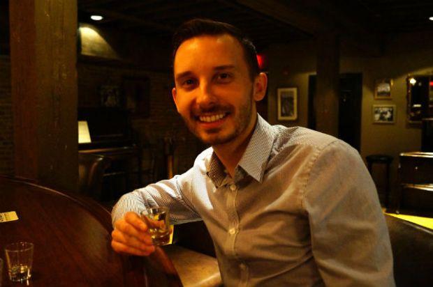 Kentucky - Shawn drinking some bourbon