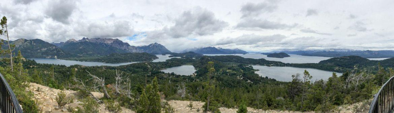 Panoramic shot of Nahuel Huapi