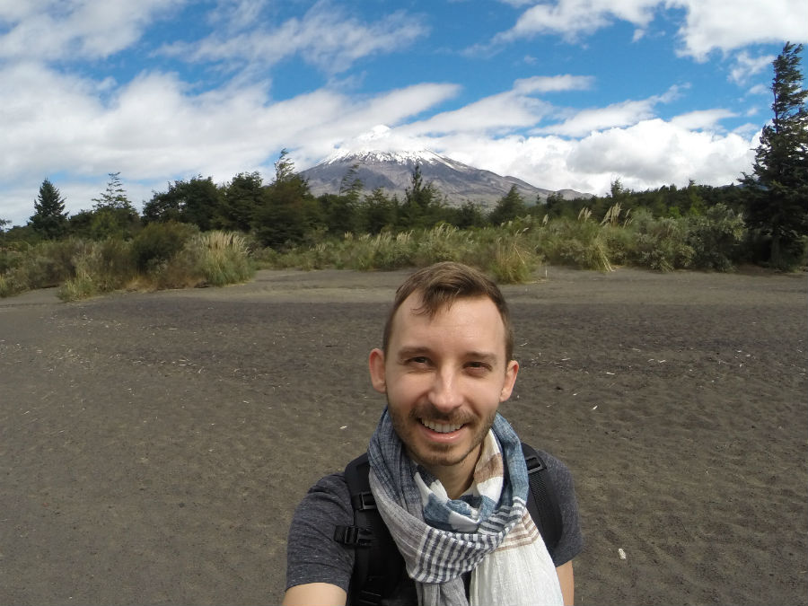 Shawn at Todos los Santos Lake