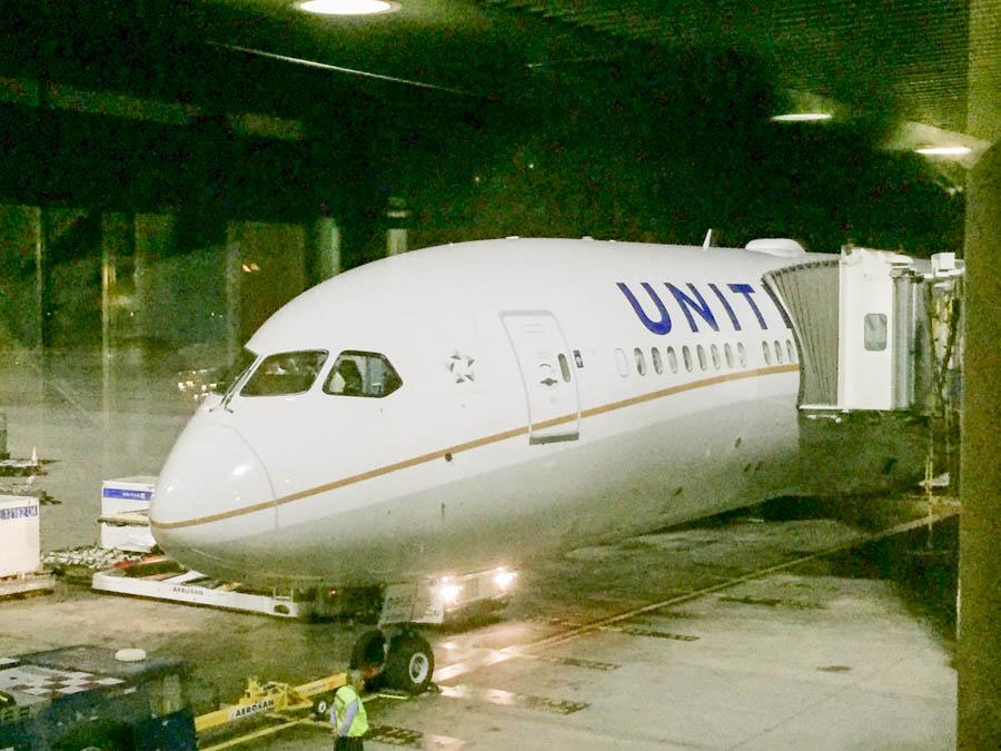 A new United 787