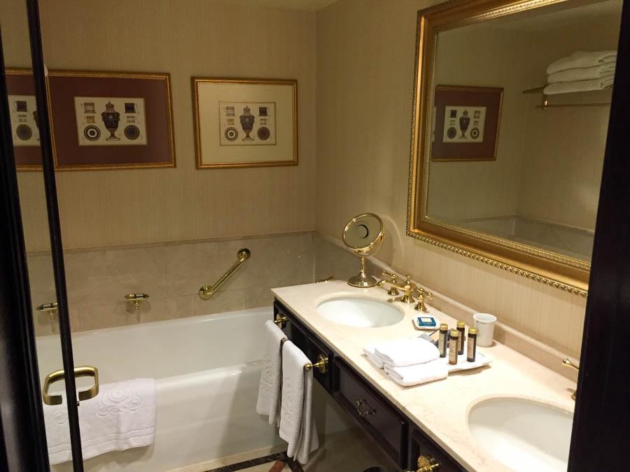 Bathroom of a room at San Cristobal