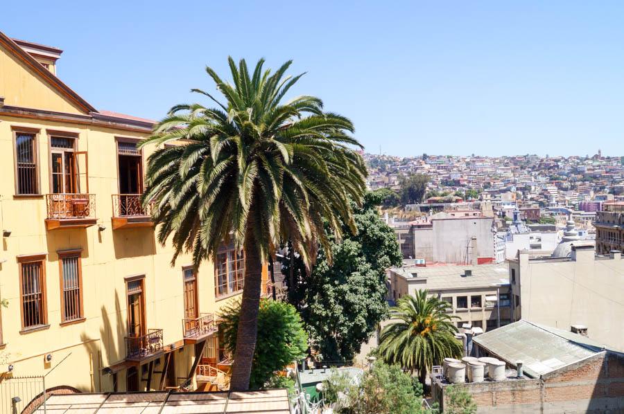 Beautiful shot of Valparaiso