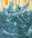 Orpheus' descent into Hades