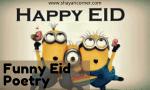 Eid Funny Shayari Urdu (Eid Funny Poetry Hindi)