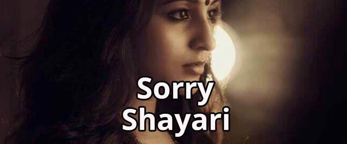 Sorry Shayari Hindi   Sorry Shayari