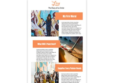 Livy Email Template