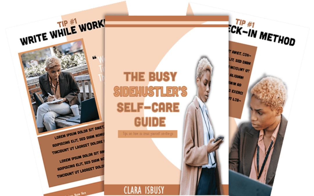 The Busy Side Hustler's Guide Ebook Template