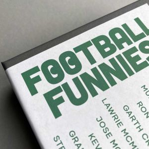 Football Funnies, Footie Quote Greetings Cards, 12 Card Gift Box