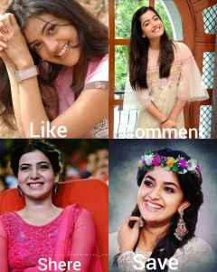 Who is your most favorite actress 🤔 👇 Úviaglitz Like dosledommen EST 1962 SMAN💖 Kajal Aggarwal By ponnu on ShareChat – WAStickerApp, Status, Videos