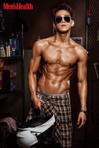 Jun.K 2PM Men's Health