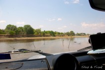 Luangwa River crossing