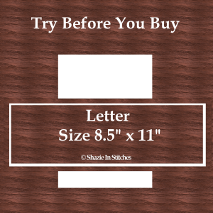 Letter Size – Try Before You Buy