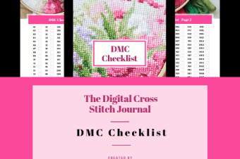 DMC Checklist – Digital Cross Stitch Journal Available To Purchase