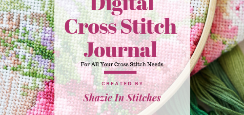 Digital Cross Stitch Journal – Try Before You Buy