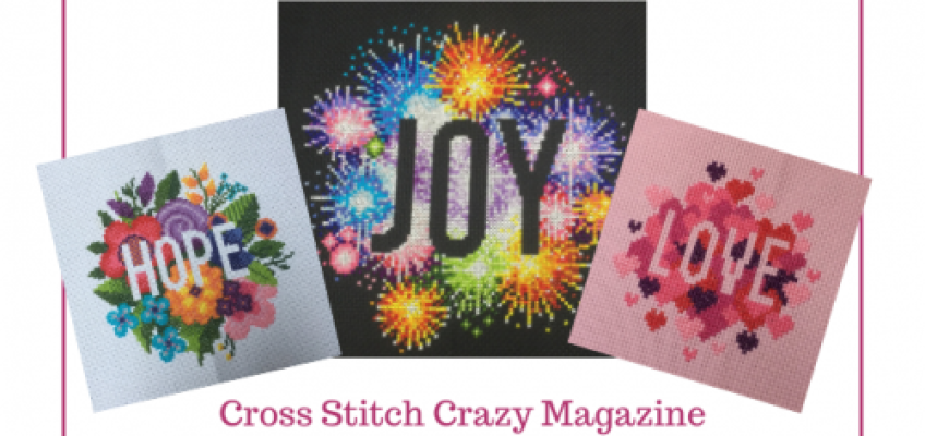 Joy, Hope and Love – Cross Stitch Crazy Issue 264