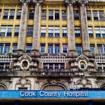 Cook County Hospital Building #2016 #hospital #