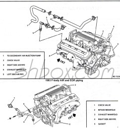 4th gen lt1 f body tech aids drawings exploded views lt1 vacuum hose diagram 1993 [ 1084 x 1107 Pixel ]