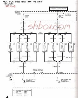 Injector Wiring Schematic request  LS1LT1 Forum : LT1