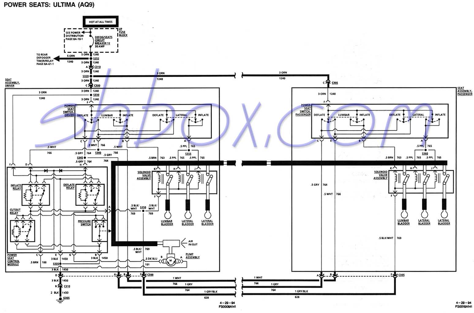 92 95 Civic Fuse Diagram