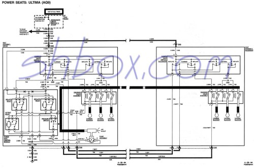 small resolution of 4th gen lt1 f body tech aidspower seat lumbar control schematic 1995 firebird