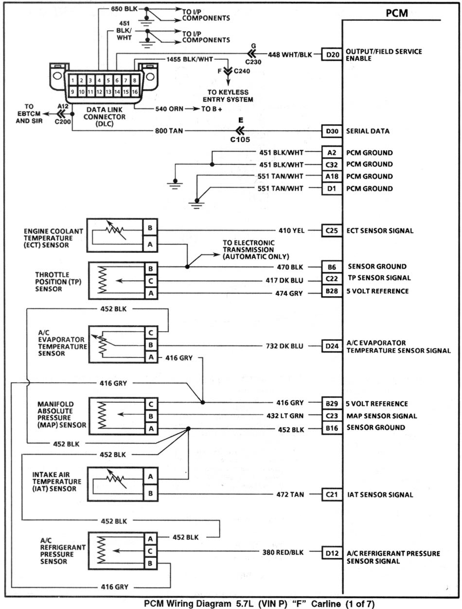 hight resolution of enlarge pcm wiring page 1