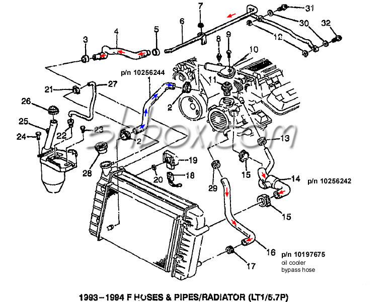 2010 Camaro Engine Cooling System Diagram