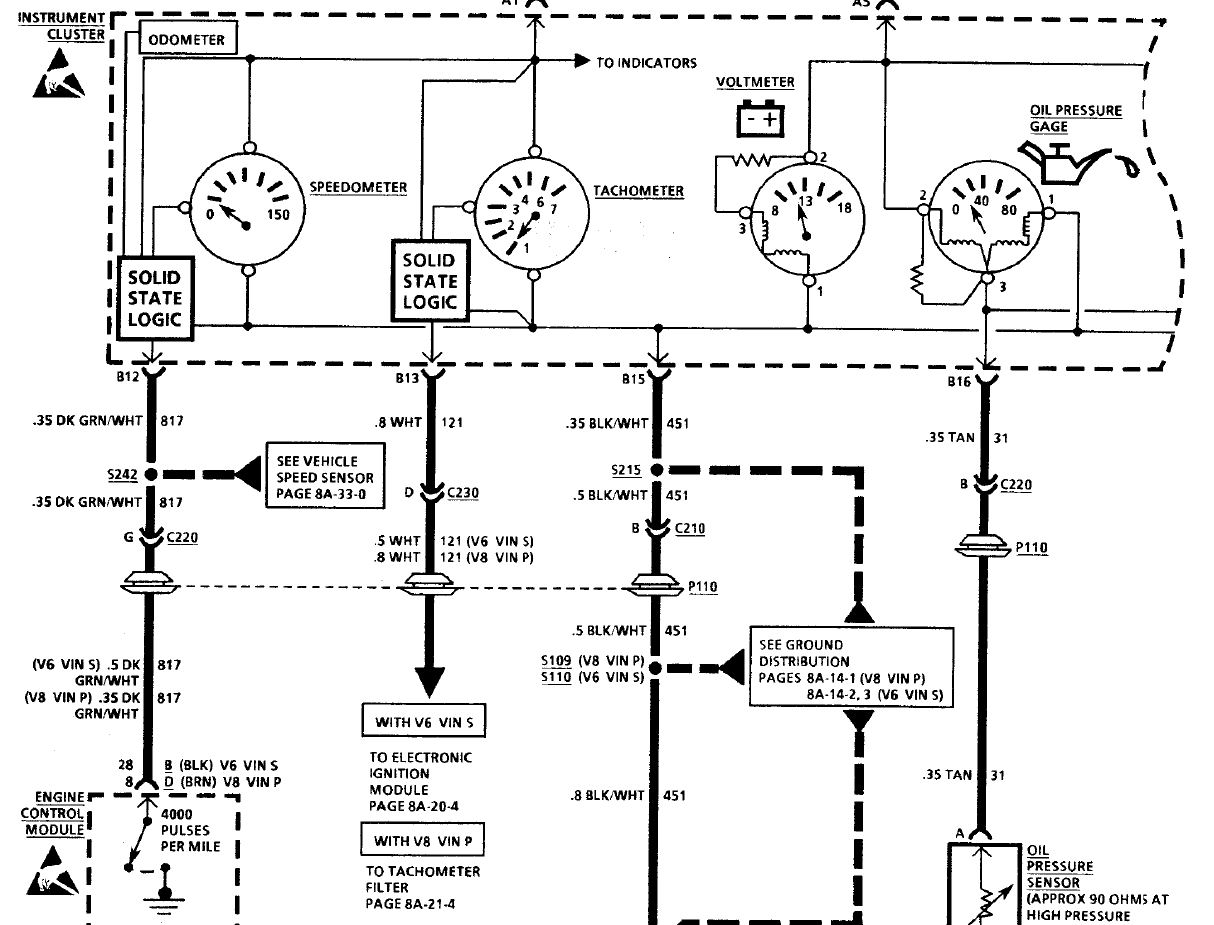 93 Camaro Ignition Wiring Diagram, 93, Free Engine Image