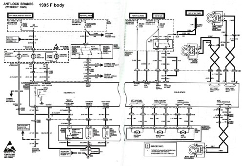 small resolution of 4th gen lt1 f body tech aids 1970 chevelle lights wiring diagram 1998 camaro tail light