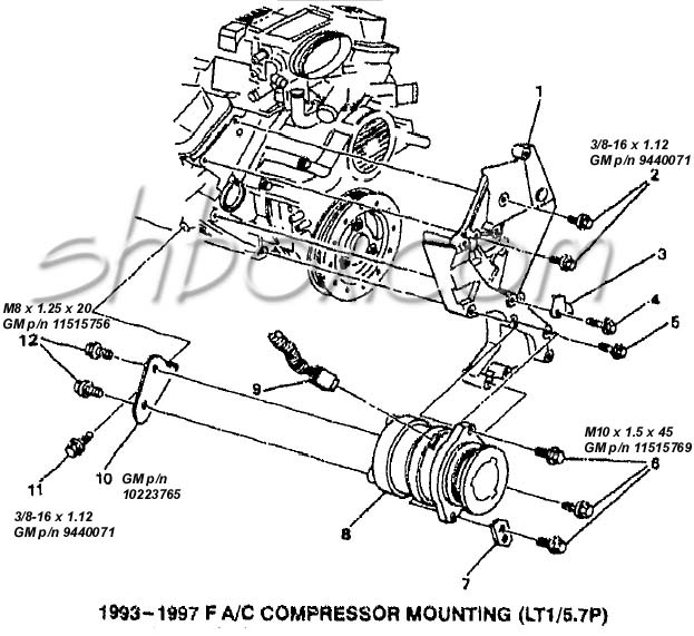 1997 pontiac bonneville transmission diagram
