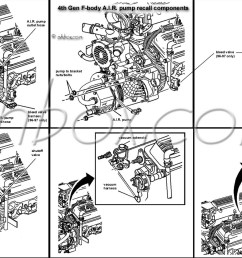 4th gen lt1 f body tech aids drawings exploded views timing chain diagram lt1 engine [ 1600 x 959 Pixel ]