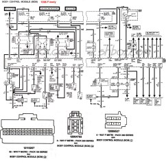 1996 Toyota 4runner Wiring Diagram Sample Sequence Example 4th Gen Lt1 F Body Tech Aids Bcm Control Module