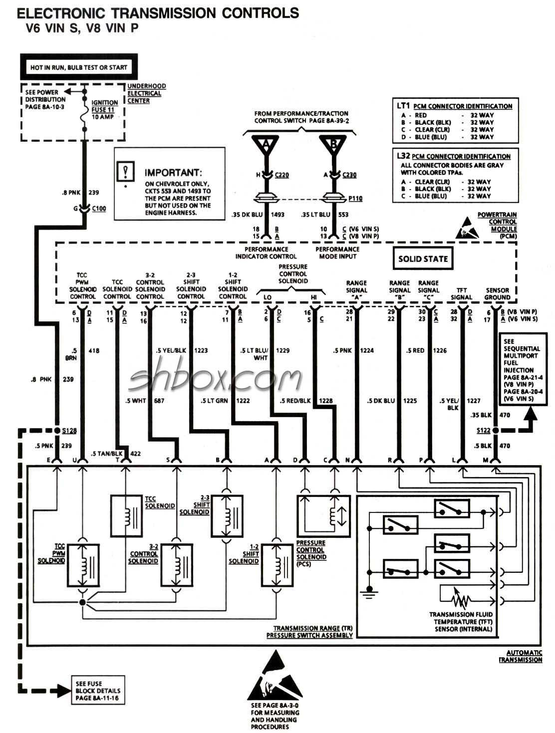 4l80e Transmission Wiring Diagram 1998