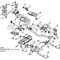 1990 Ford F150 Wiper Motor Wiring Diagram Carnival Cruise Ship 4th Gen Lt1 F Body Tech Aids Drawings Exploded Views Exhaust System View 95 Rpo Nb6 96 97 Dual Cat