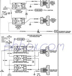 4th gen lt1 f body tech aids 1991 firebird fuse diagram cooling fans schematic [ 1028 x 1372 Pixel ]